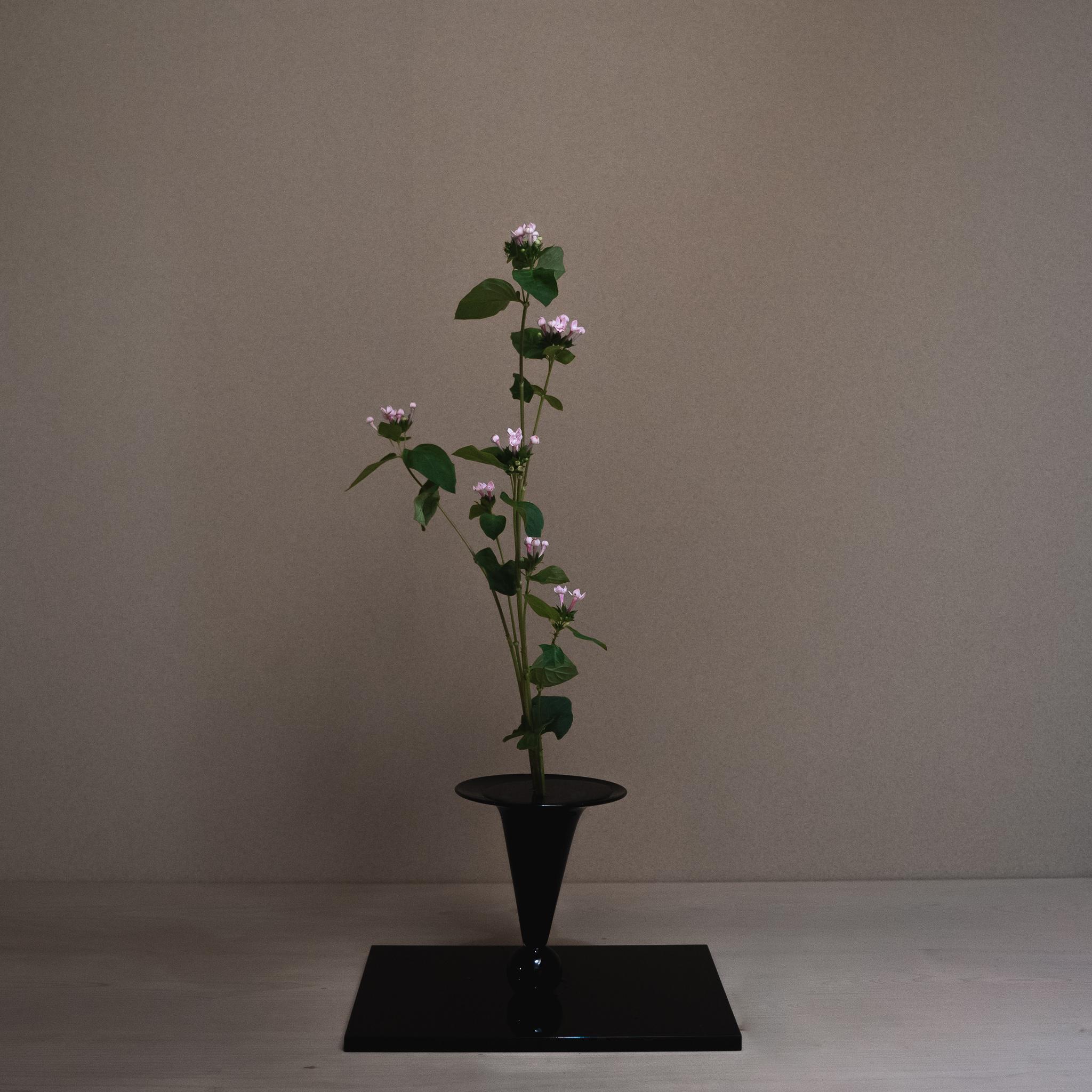 新しい花を伝統的な様式でいかす
