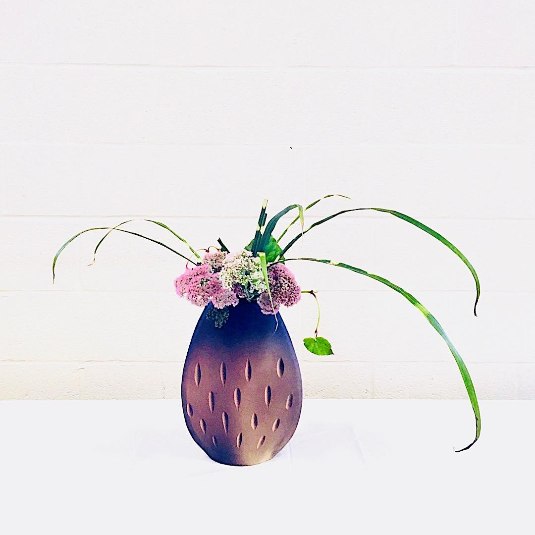 ボルチモア支部で披露した自由花